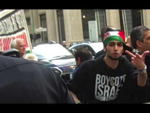 Anti-Israel protest in San Francisco (7/7/14)