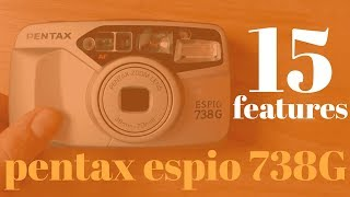 Pentax Espio 738G - Cheapest 35mm Point and Shoot? - 15 Features