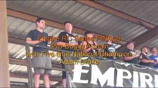 Empire RC Finals with Adam Drake in the Pro Buggy A main HELL YEAH!