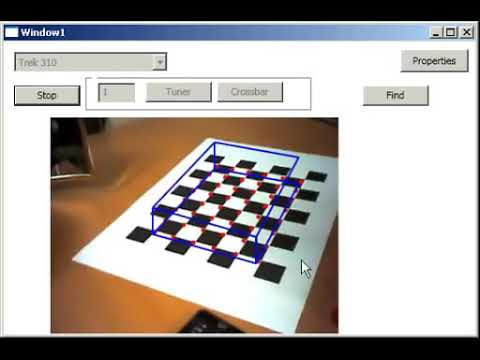 Augmented Reality using DirectShow, WPF, OpenCV