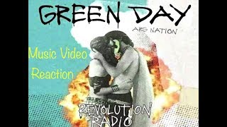 Green Day Revolution Radio music video Reaction