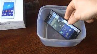 Подводный телефон Sony Xperia M4 Aqua Dual E2312 : обзор, отзыв владельца и испытание под водой