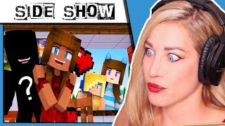 Minecraft Roleplay/Psycho Girl Show #2 REACTION - Aunt Sour *Minecraft Video*