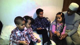 رحمه الله Eritrean muslim kids with their compassionate Grandfather