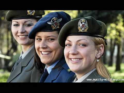 WOMEN IN SERBIAN ARMY /     