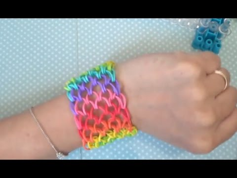 Bracelet lastique comment faire des bracelets avec des lastiques youtube - Comment faire un bracelet en elastique ...