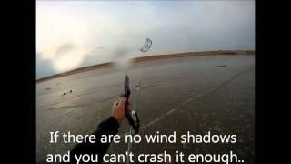 How to Self Launch and Self Land a Kitesurf Kite (HD)
