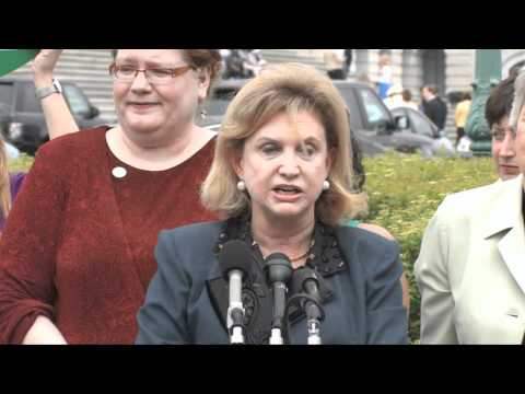 Rep. Maloney's ERA 40th Anniversary Press Conference, Part 1