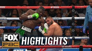 Ajagba defeats Demirezen by unanimous decision to remain undefeated | HIGHLIGHTS | PBC ON FOX