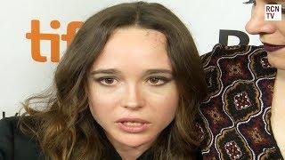 Ellen Page Interview My Days of Mercy Premiere