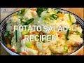 How To Make World's Best Potato Salad Potato | Chef Ricardo Cooking.com
