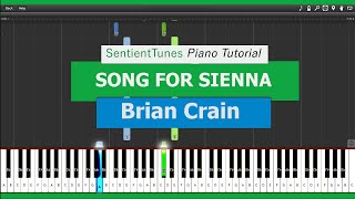 Brian Crain 34 Piano Lessons 34 Song For Sienna Piano Tutorial Hd
