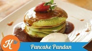 Resep Pancake Pandan (Pandan Pancake Recipe Video) | REVO