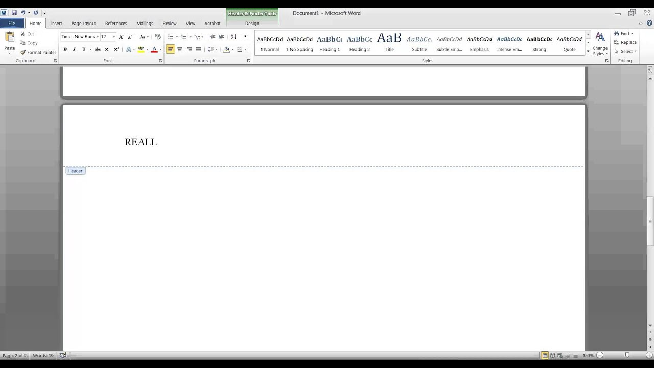 set-up an apa formatted paper in word 2010