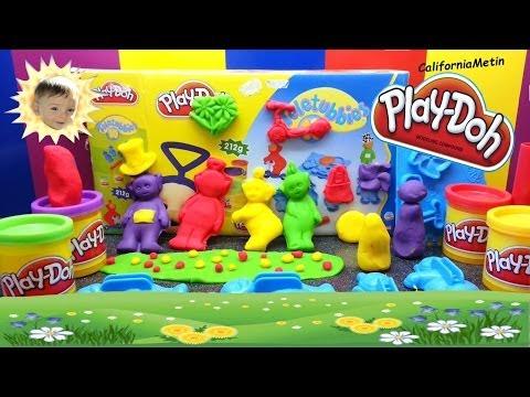 Teletubbies Play Doh Playskool Play-Doh Playdough Playset