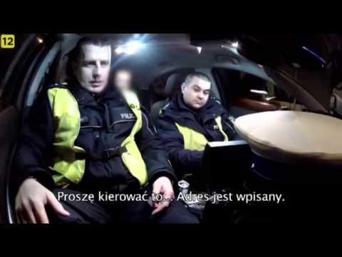 Postanowił się postawić policji