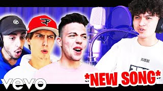 FaZe House REACTS to my NEW SONG! (FaZe Jarvis - B4L)