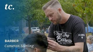 Pure Philanthropy: How Cameron Sterling and Street Thug Barbers are giving back