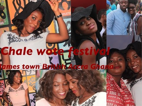 Ghana Vlog| Chale Wote Festival |James Town Accra
