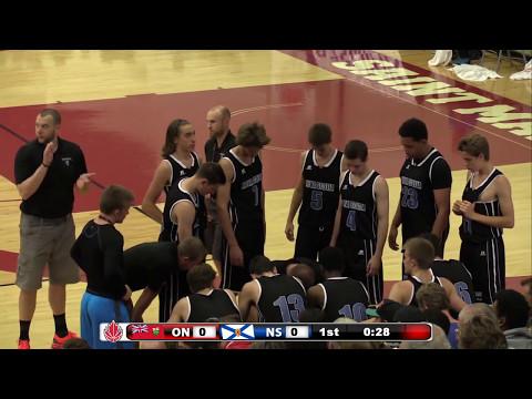 Incredible Gold Medal Game - Ontario vs. Nova Scotia - 2015 Canada Basketball Nationals