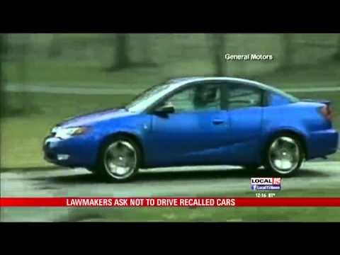 Lawmakers: Don't Drive Recalled GM Cars
