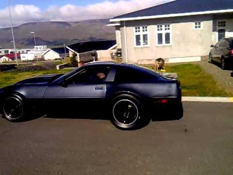 C4 Widebody 489 Twin Turbo Idling In Iceland Youtube