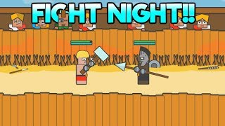 Gladiator School - FIGHT NIGHT!! - Part 2 Let's Play Gladiator School Gameplay