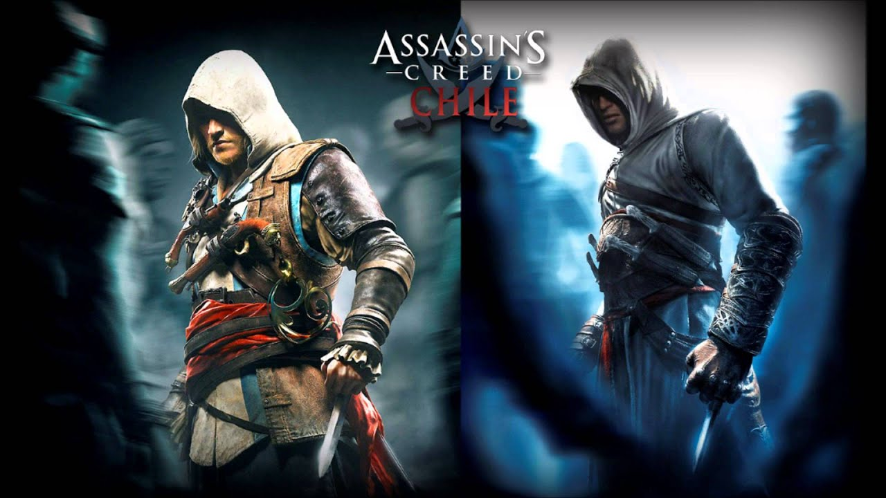 Displaying 17 gt  Images For - Altair Ezio Connor Edward   Connor And Ezio
