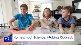 How to Make Oobleck | Homeschool Science| Flippin