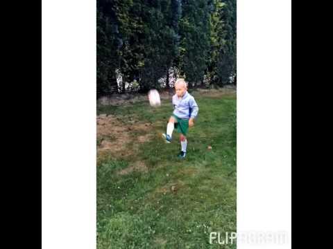 Młoda Wersja Cristiano Ronaldo, Olivier, 6 Lat. Piłka Nożna. Football