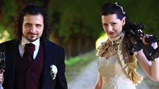 Celtic steampunk wedding