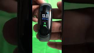 Mi BAND 3 Unboxing video