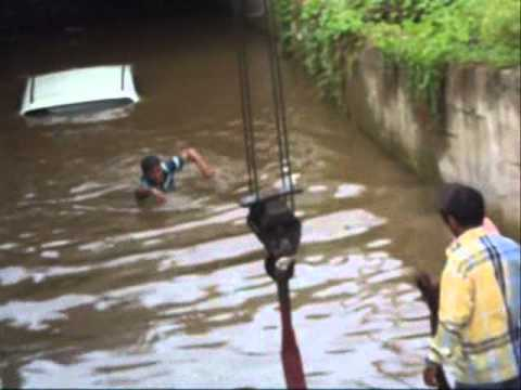 Badlapur subway car submerged in underpass | MPC News | Pune | Pimpri-Chinchwad | Thane