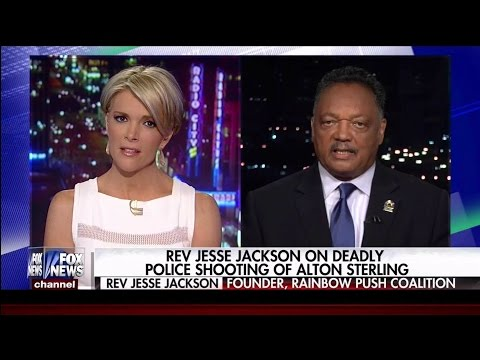 Rev. Jesse Jackson Doubles Down on Racism Charges for Police Shooting in Baton Rouge
