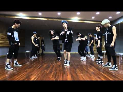 Boyfriend 'Obsession' mirrored Dance Practice