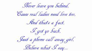 Let Me Love You Girl - Mr Capone-e Lyrics
