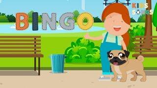 Bingo (Dog Song) - Kids Songs