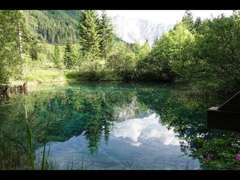 Австрия Каринтия Боденталь достопримечательность озеро  Meerauge Глаз моря