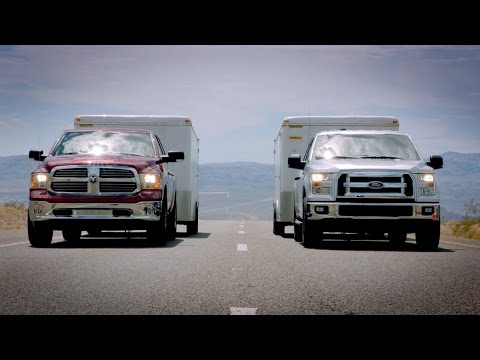 2015 Ford F-150 towing test VS. Ram 1500 & Chevy Silverado
