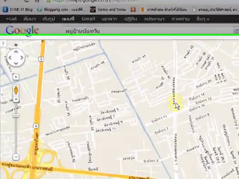 google maps to CorelDRAW maps (thai)