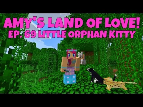 Amy's Land Of Love! Ep.69 Little Orphan Kitty