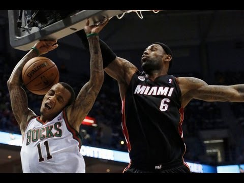 NBA 2013 Playoffs round 1: (1) Miami Heat vs. (8) Milwaukee Bucks