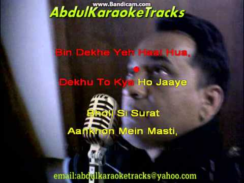 Bhooli Si Surat karaoke