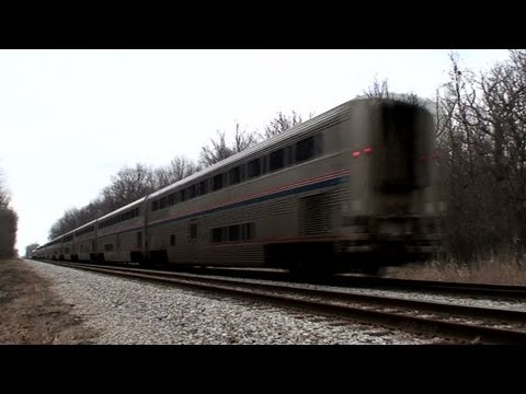 Amtrak Empire Builder Westbound