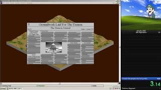 SimCity 2000 - 30k population Speedrun in 3:14.55