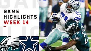 Eagles vs Cowboys Week 14 Highlights | NFL 2018