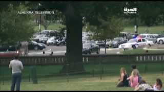Capitol Shooting Car Chase Dramatic Video