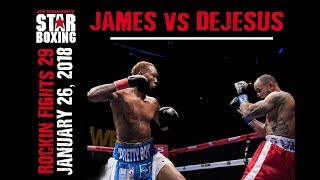 Rockin' Fights 29: Tyrone James vs. Alex Dejesus