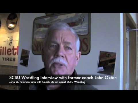 St. Cloud State Wrestling Interview with John Oxton