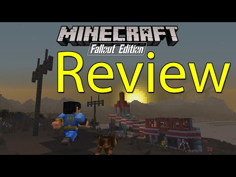 Minecraft Fallout Mash-Up Pack Gameplay Review